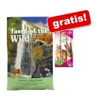 6,6 kg Taste of the Wild + GranataPet Feini Sticks, kurczak, 3 x 5 g gratis!