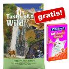 2 kg Taste of the Wild + Vitakraft Cat Liquid-Snack Rață & ß-Glucan 6x15 g gratis!