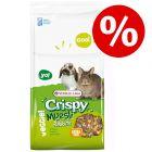 10 kg Versele-Laga Crispy Müsli gnagarfoder till extra lågt pris!