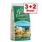 3kg Wild Elements Dry Dog Food + 2kg Free!*