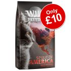 """2kg Wild Freedom Adult """"Spirit of America"""" Dry Cat Food - Only £10!*"""