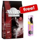 2kg Wild Freedom Dry Cat Food + 30g Chicken Cosma Snackies XXL Free!*