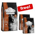 6kg Wild Freedom Dry Cat Food + 800g Extra Free!*