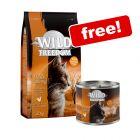 2kg Wild Freedom Dry Cat Food + 6 x 200g Wet Food Free!*