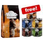 6kg Wild Freedom Dry Cat Food + 6 x 200g Wet Food Mixed Pack Free!*