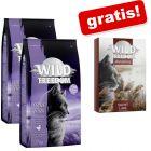 4 kg Wild Freedom hrană uscată + gratis: 6 x 70 g hrană umedă!