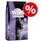 2 kg Wild Freedom hrană uscată pisici cu 15 lei reducere!