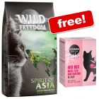 "2kg Wild Freedom ""Spirit of"" Dry Food + 12 x 100g Cosma Asia Pouches Free!*"