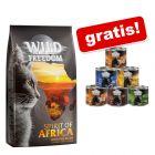 6 kg Wild Freedom Trockennahrung + 6 x 200 g Nassfutter gratis!