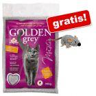 14 kg Żwirek Golden Grey Master + Trixie myszka z kocimiętką gratis!