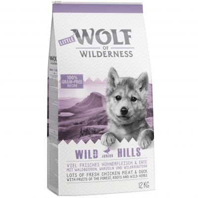 12kg Wolf of Wilderness Dry Dog Food - €10 Off!*