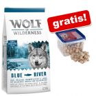 12 kg Wolf of Wilderness + 1 kg DogMio Mark Nuggets gratis!