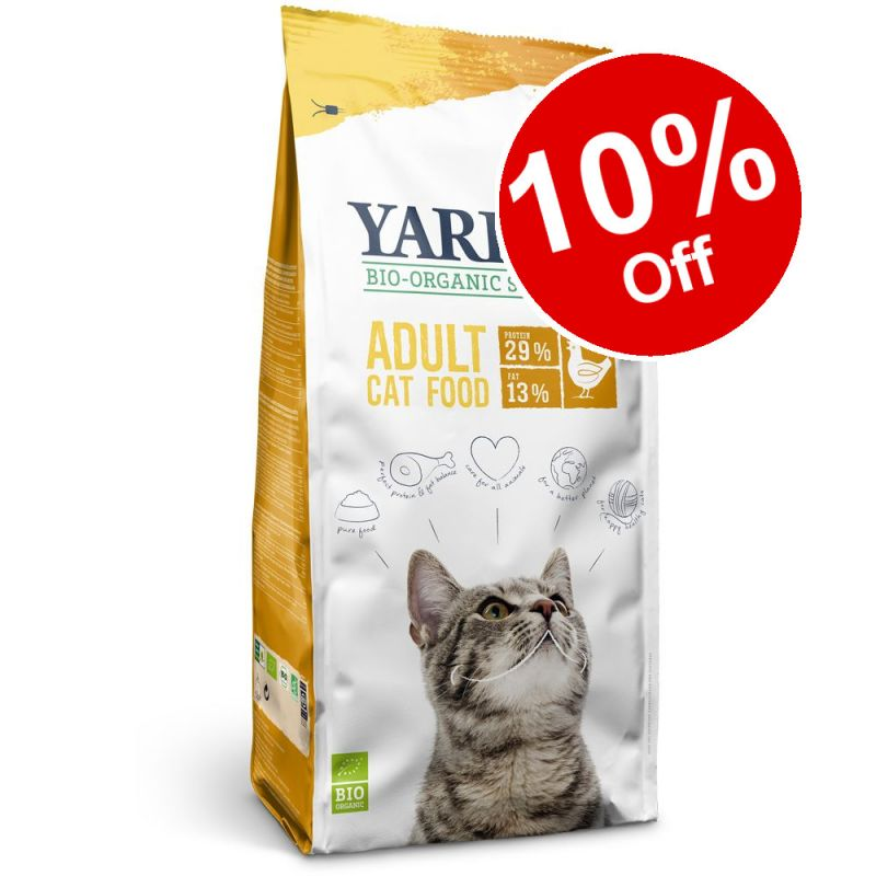 10kg Yarrah Organic Dry Cat Food - 10% off!*