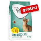 2 kg zdarma! Concept for Life krmivo pre mačky v bonusovom balení
