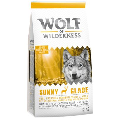 12 + 1 kg zdarma! 13 kg Wolf of Wilderness granule