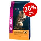 3kg/4kg Eukanuba Dry Cat Food - 20% Off!*
