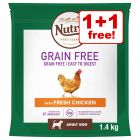 1.4kg/1.5kg Nutro Dry Dog Food - Buy One Get One Free!*