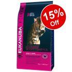 3kg/4kg Eukanuba Dry Cat Food - 15% Off!*