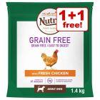 1.4kg/1.5kg Nutro Dry Dog Food - Buy One Get One Free!*