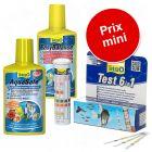 Kit Tetra d'entretien et test de l'eau pour aquarium