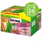 Kitekat Maaltijdzakjes Kattenvoer 24 x 100 g