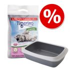 Kitten početni set: Tigerino Canada pijesak za mačke + Savic mačji WC