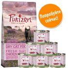 Пробная упаковка Kitten: Purizon 400 г и Feringa 6 x 200 г