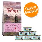 Σετ Δοκιμής Kitten: Purizon Kitten 400 g + Cosma Nature Kitten 6 x 70 g