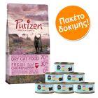 Σετ Δοκιμής Kitten: Purizon Kitten 400 g + Cosma Nature Kitten 6 x 70 g