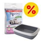 Kitten Starter-Paket: Tigerino Canada Katzenstreu + Savic Katzentoilette