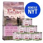 Kitten-kokeilupakkaus: Purizon 400g & Feringa 6 x 200 g