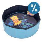 Kitty Pool con giochi galleggianti per gatti