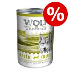 75 kn popusta!  Wolf of Wilderness mokra hrana 24 x 400 g