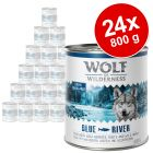 Knaller: Sparpaket Wolf of Wilderness 24 x 800 g