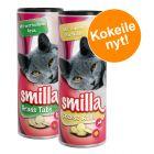 Kokeilupakkaus: Smilla Cheese Rolls & Smilla Grass Tabs