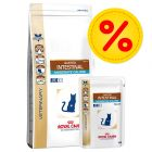 Kombipack: Royal Canin Vet - Intestinal Moderate Calorie