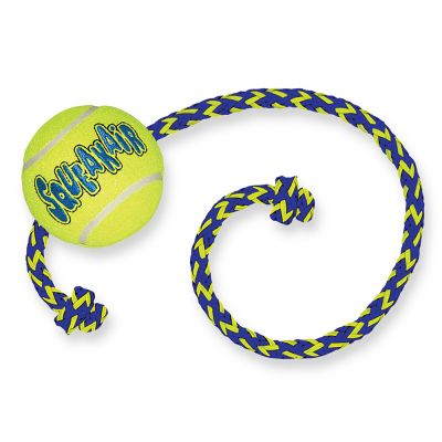 KONG SqueakAir Ball with Rope