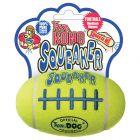 KONG AirDog Squeaker tennis-football med piv