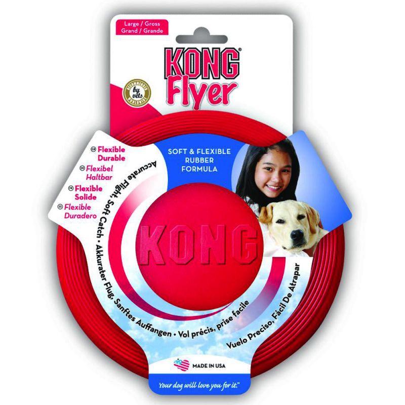 KONG Flyer Dog Frisbee