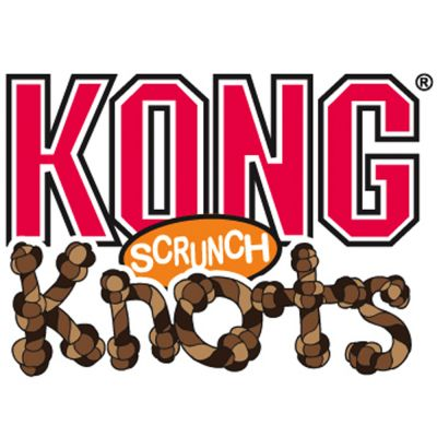 KONG Scrunch Knots Fox