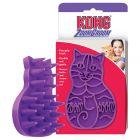 KONG ZoomGroom cepillo masajeador para gatos