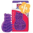 KONG ZoomGroom cepillo masajeador para gatos ¡en oferta!