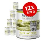 Økonomipakke: 12 x 800 g Wolf of Wilderness Adult