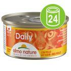 Økonomipakke Almo Nature Daily Menu 24 x 85 g