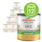 Økonomipakke Almo Nature HFC  12 x 280 g