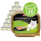 Økonomipakke Animonda vom Feinsten Adult med Gourmetfyll 36 x 100 g