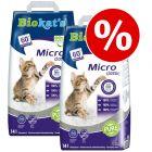 Økonomipakke: Biokat's kattegrus