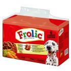 Økonomipakke: 2 eller 3 esker Frolic hundefor til lavpris