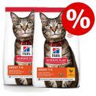 Økonomipakke: Hill's Science Plan tørfoder til katte