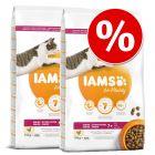Økonomipakke: IAMS tørfoder til katte 2 x 10/15 kg